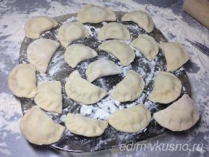 Как приготовить вареники с картошкой. Рецепт с фото
